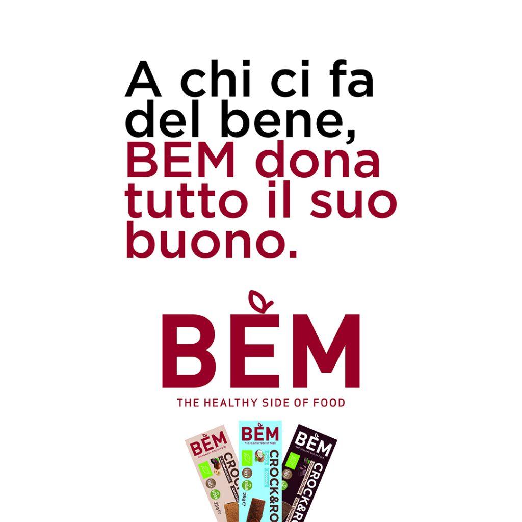 BEM con Dolci Advertising per sostenere gli Ospedali di Torino